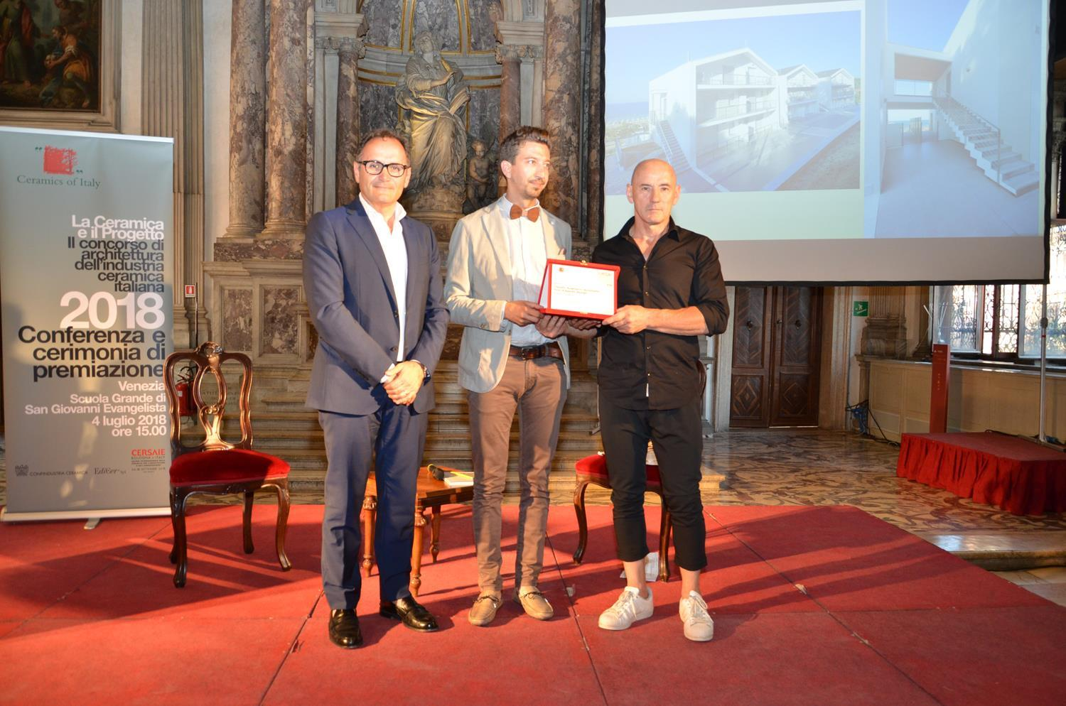 Cotto d'Este recibe la mención de honor en el concurso «La Ceramica e il Progetto 2018»: Photo 1